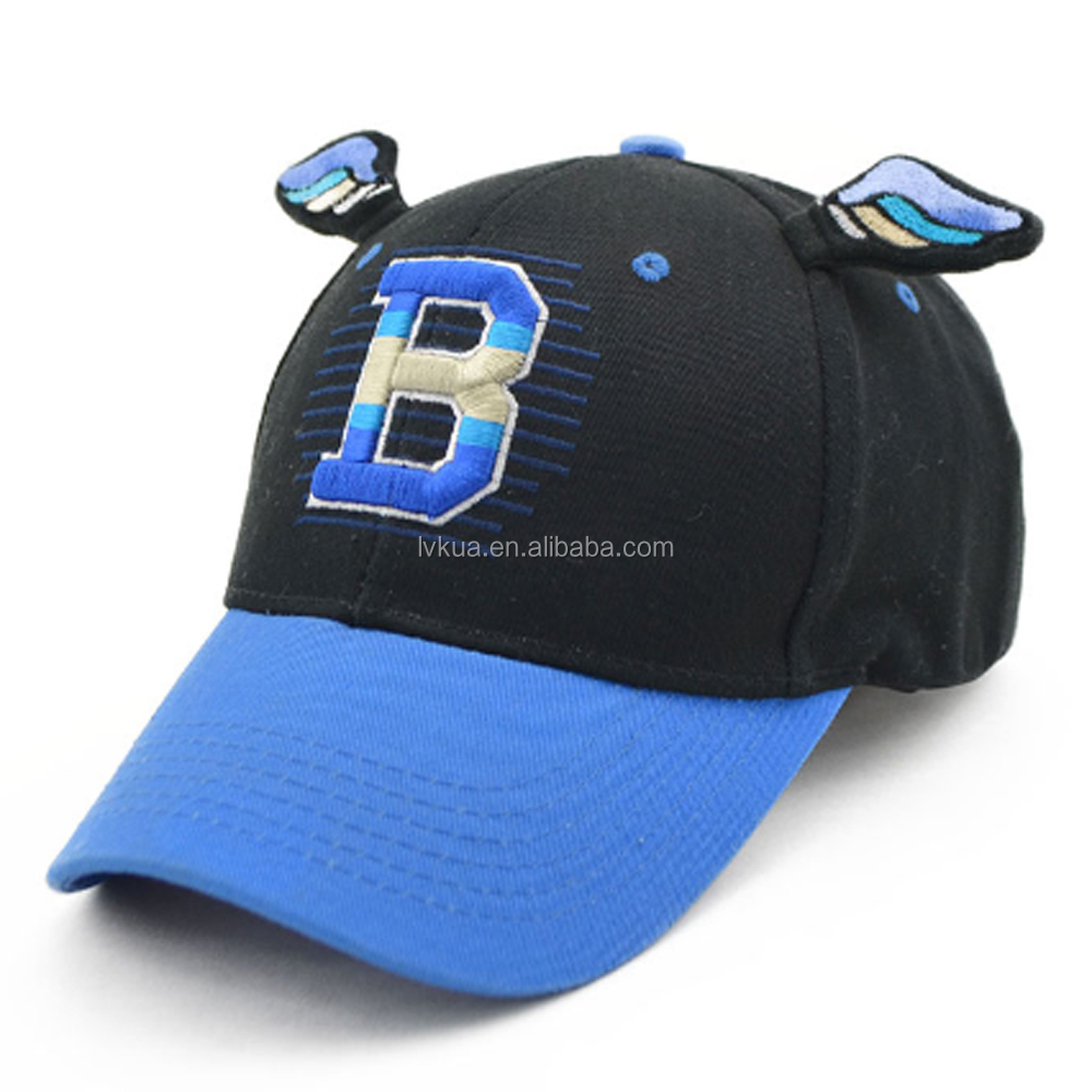 Fashion Unisex Adjustable Hip Hop Baseball Caps for Adults with B Letter