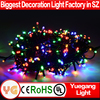 Factory manufacturer warm white led christmas string light 30m 200leds led string light christmas string light 24V UL CE ROHS
