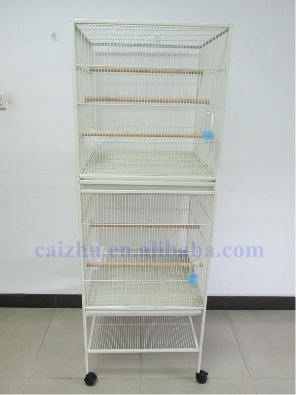 New Design Two Layer Metal Bird Cage