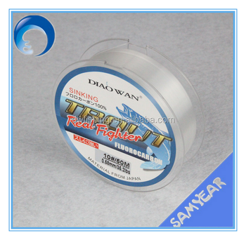Manufacturer! 100% Japan Fluorocarbon Fishing Line