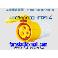 Male And Female Industrial Plug And