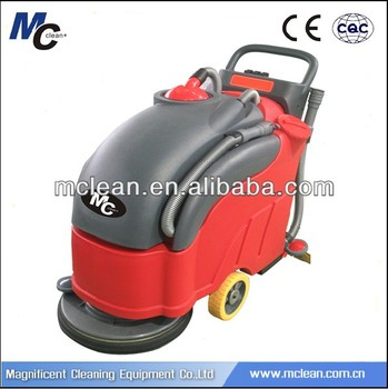 C460SE compact electric floor scrubber