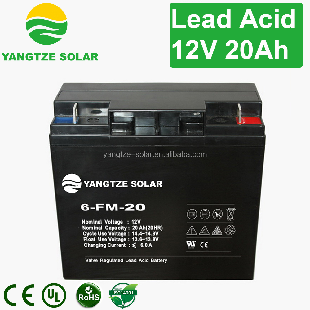Hot sale 12v 20ah 6-dzm-20 battery