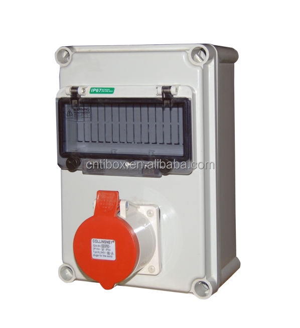 TIBOX water proof plastic distribution box