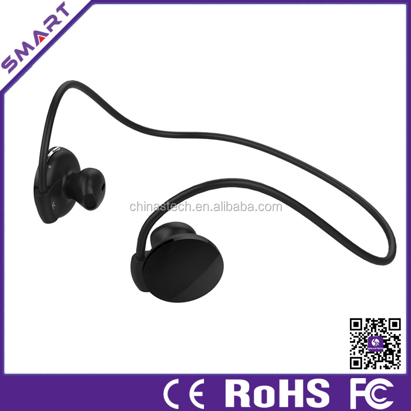Guangdong factory private model silent disco bluetooth headset with MP3 player,fm radio