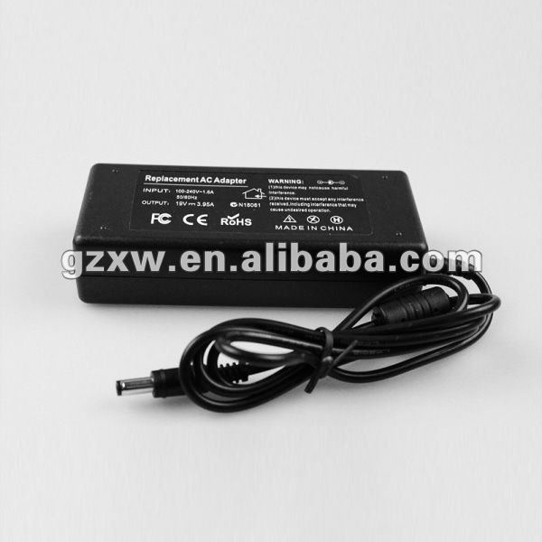 oem laptop charger 19v 3.95a for toshiba