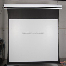tab tension projector screen floor up