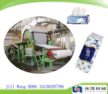 Jumbo roll rolling machine sugarcane bagasse for tissue paper making machine plant price