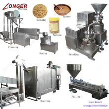 Factory Price Sesame Butter Paste Grinding Tahini Production Line Tahini Making Machine