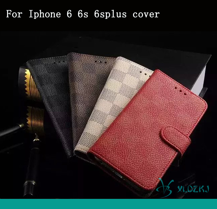 Fashion Leather Hot Selling Mobile Phone Accessories For Iphone 6 6s 4.7 And 5.5 Inches Case