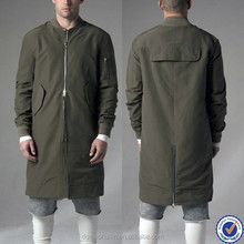 huilin mens clothing custom men wear fashion mens european style coats long bomber