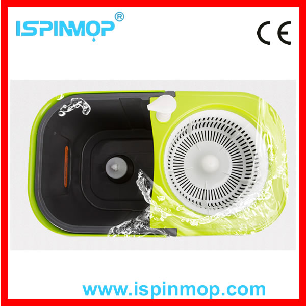 Best selling high quality new design magic floor hurry mop with PP basket