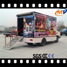 Easy move motion truck mobile 12D kino system free moive chinese