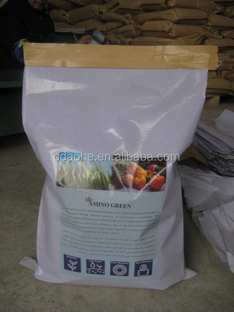USDA ORGANIC Plant Based Free Chloride 13.5-0-0 FERTILIZER 80% Amino Acid Powder