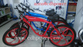 white color complete bicycle/red color complete bicycle/blue color bike