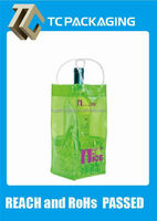 TC keep thermal pvc winebottle bag