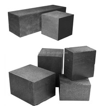 High density cuboid Isostatic pressing carbon graphite blocks /Pure 99.99% isostatic pressing formed Graphite