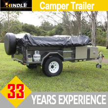 Large Storage Space Travel Camper Trailer for Van