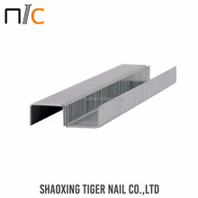 OEM customized Exporting standard galvanized standard staples nails