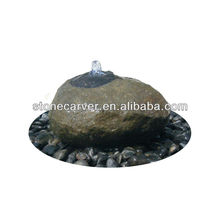 Artificial Stone Sphere Fountain With Light