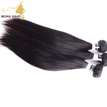 Virgin indian hair raw unprocessed free sample hair bundles star quality hair extensions