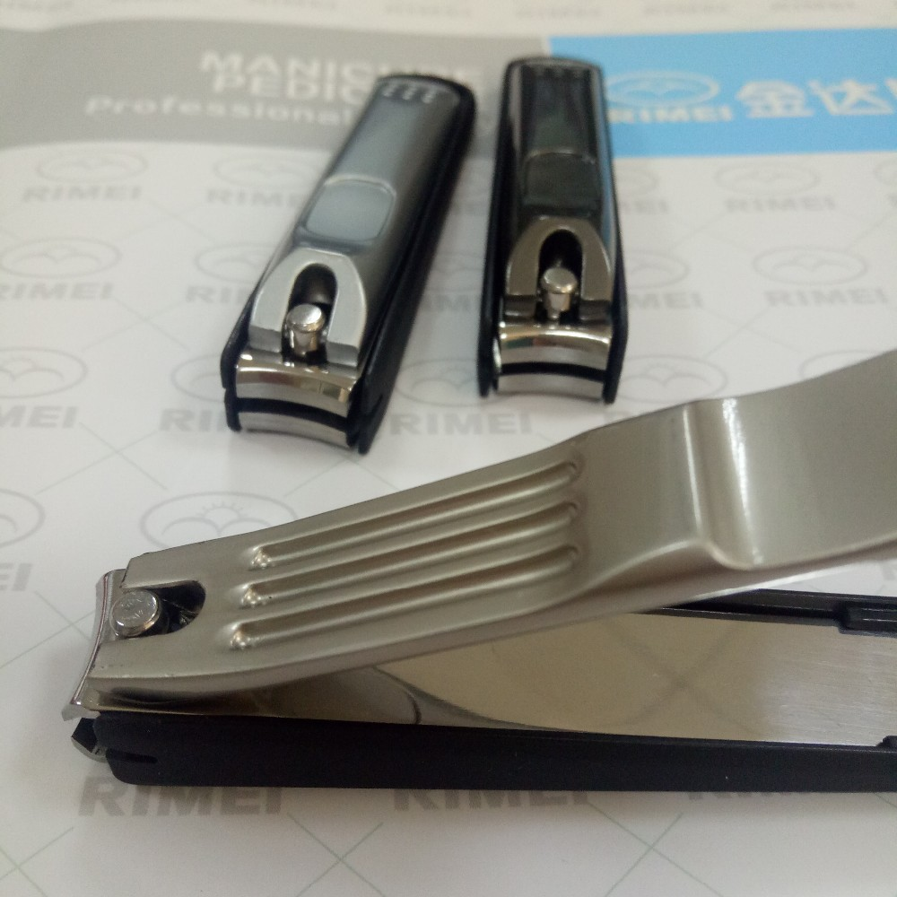 Best seller heavy duty toenail clipper with catcher nail cutter with nail collect