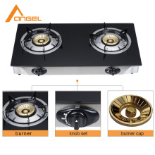 European Kitchen New Model 33 Inch 2 Burner Stove Table Top Portable Gas Cooker Parts