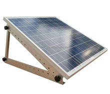Portable Flat Roof Adjustable Solar Panel Mount