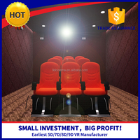 2015 the most revenue high-class hydraulic motion best home cinema 5D cinema,7D cinema,9D cinema