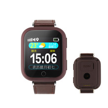 High quality elder GPS watch phone with SOS panic button and heart rate monitor