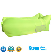 Inflatable Air Bag Lazy Bed with Portable Carry Bag for Various Uses
