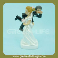 Love Bride and Groom Couple Figurine wedding cake topper
