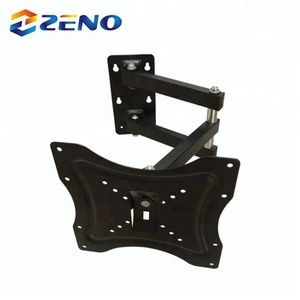 "swing arm CP302 Hot Selling VESA 200x200 14""-40"" Inch Full Motion LCD TV Wall Mount"