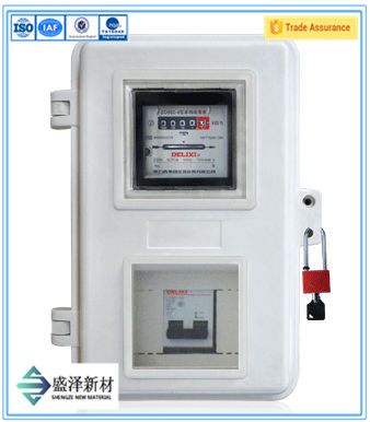 Single Phase Electricity Meter Box Fiberglass Smc Meters Box