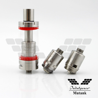 2015 new rebuildable atomizer rba rta best vapor tank Mutank by Indulgence