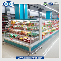 luxury commercial showcase produced by China refrigerator manufacturers