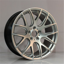 New design Front and Rear Hyper silver Machiend polish size 18 19 20 inch PCD 5X120 Replica Aluminum alloy wheel rims