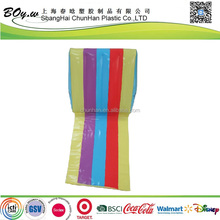factory full cover printing pvc inflatable wedge cushion