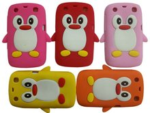Lovely Penguin Silicone Cover Case For BlackBerry 9360/9350/9370 Curve
