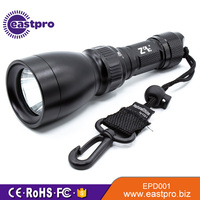Passed CE RoHS test bright watertight uv flashlight diving