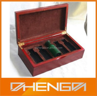 High Quality China Customized Made Wooden Olive Oil Bottle Packaing Box For Gift (ZD-J31H)