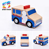 2016 hot sale kids wooden car toy,high quality children wooden car toy,wholesale cheap baby wooden car toy W04A216