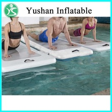Hot selling cheap inflatable gymnastics mats water floating air mat for sale