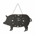 Wholesale high quality wholesale pig shaped wood promotional wall clock