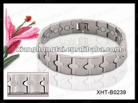 New design best balance magnetic ion bracelet with germanium ,negative ion , far infrared