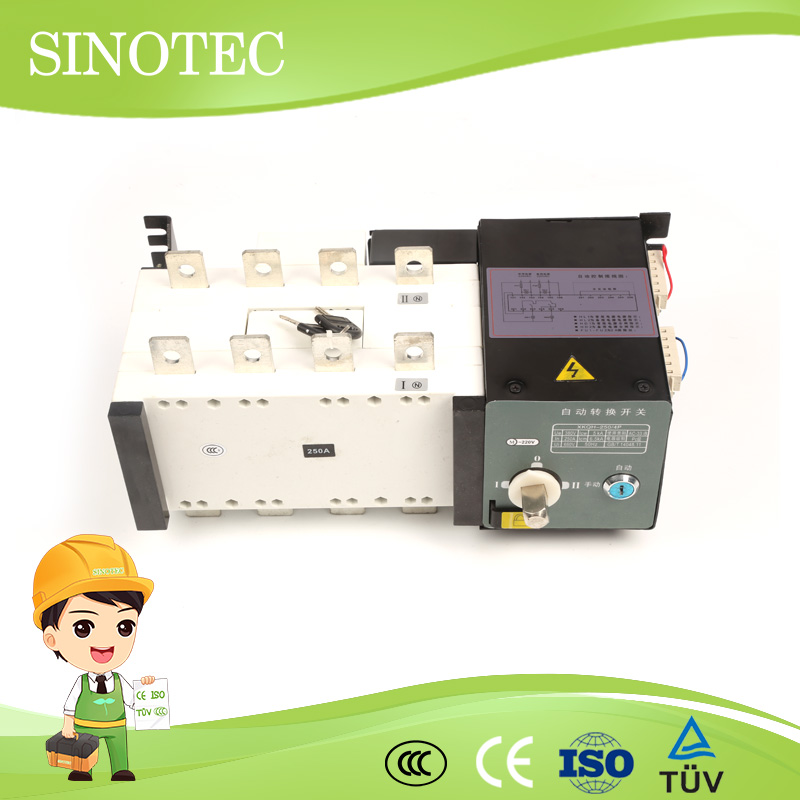 Static automatic transfer switch 100 a or manual ats controller