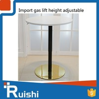 Commercial furniture gas lift height adjustable wooden lectern