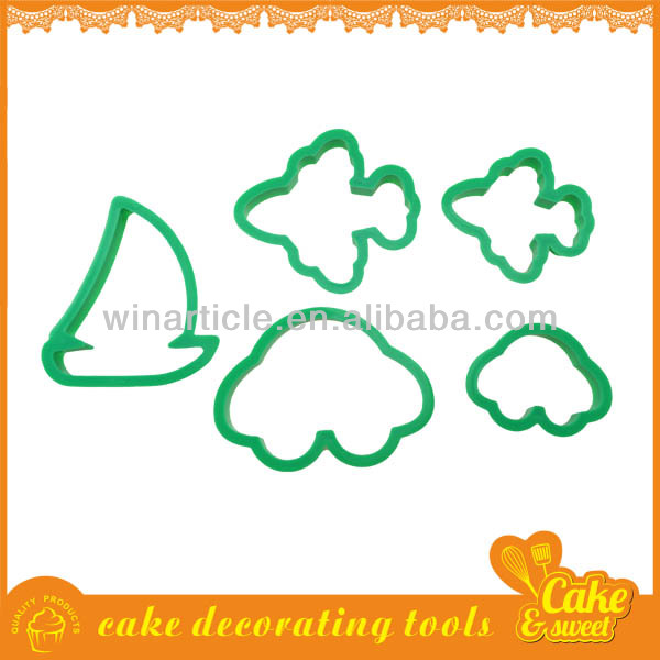 Bulk plastic christmas cookie cutters