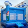 Hola shark bouncy castle for adult and kids/shark inflatable castle