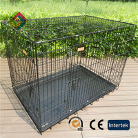Fence dog kennel sturdy and durable enclosed pet fence dog fence to assemble and remove small pet litter